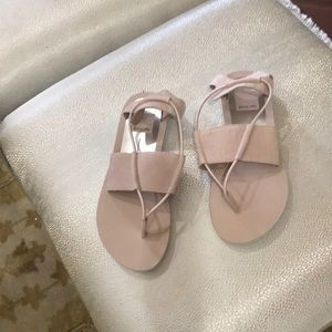 Tan sandals brand new